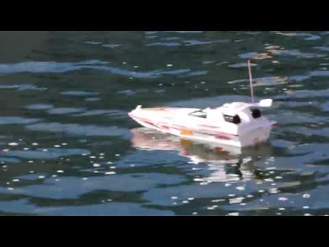 Double Horse-7008 Blue Streak Marine RC High Speed Racing Boat