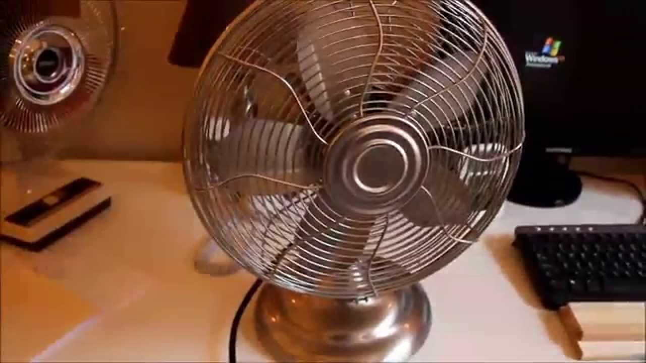 Good Hawaiian Breeze Oscillating Table Fan