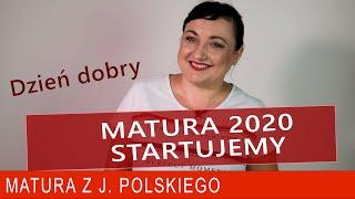 210. Matura z polskiego 2019/20. Dzień dobry.