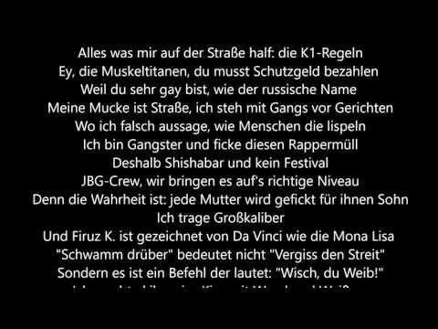 Kollegah & Farid Bang - Medusa Lyrics HD