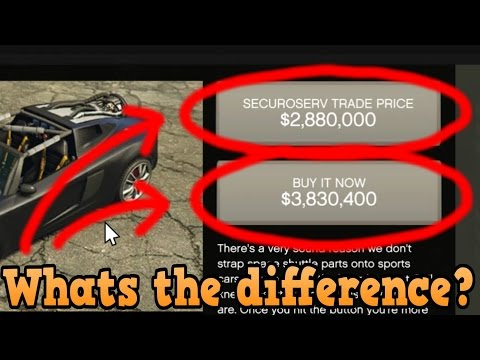 GTA online guides - Does buying Securoserv special vehicles at trade price make any difference?