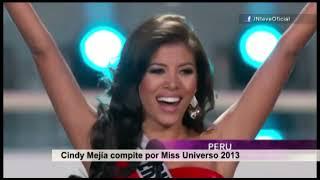 Cindy Mejía compite por Miss Universo 2013