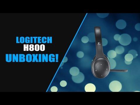 Logitech H800 Wireless Headset Unboxing!
