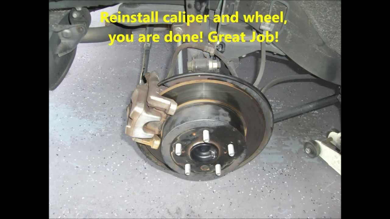 Replacing Rear Wheel Bearing On A 2007 Toyota Camry