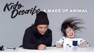 Kids Describe Made Up Animals to Koji the Illustrator | Kids Describe | HiHo Kids