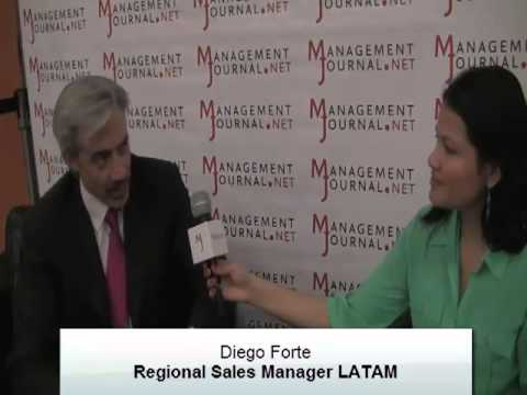 Management Journal con Diego Forte, Regional Sales Manager para LATAM