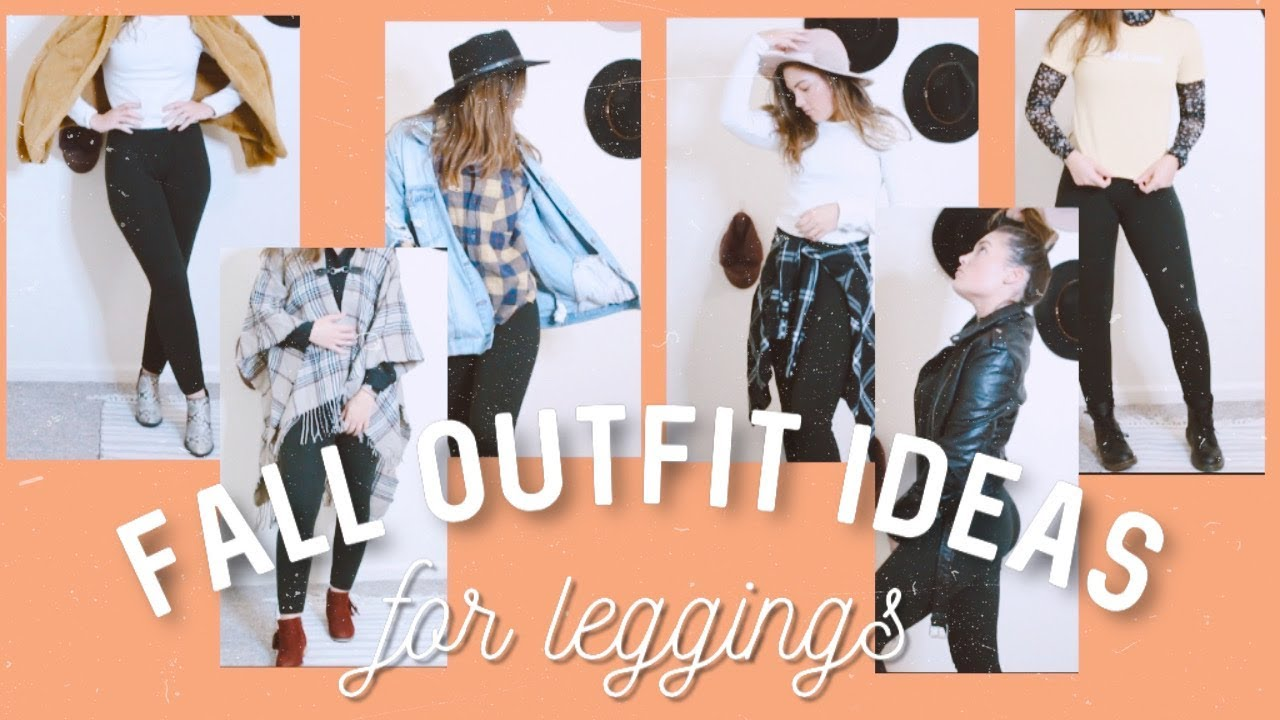 [VIDEO] - *not boring* FALL outfits to wear w/ LEGGINGS (affordable) 3