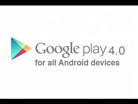 Download and install the official Google Play Store 4.0