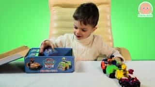 Щенячий Патруль. Игровые наборы Paw Patrol - Детский видео обзор и распаковка игрушек