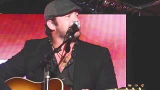 lee brice performance of a woman like you at the sesac awards