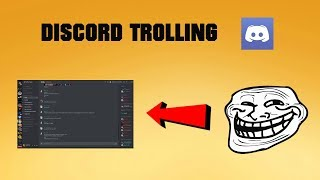 DISCORD TROLLING #1 (Voice Trolling With Clownfish Voice Changer)