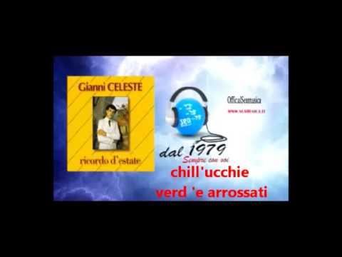 GIANNI CELESTE Ricordo d'estate karaoke