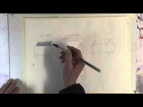 A Simple Method For Drawing & Painting Cars