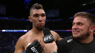 UFC 235: Johnny Walker Octagon Interview