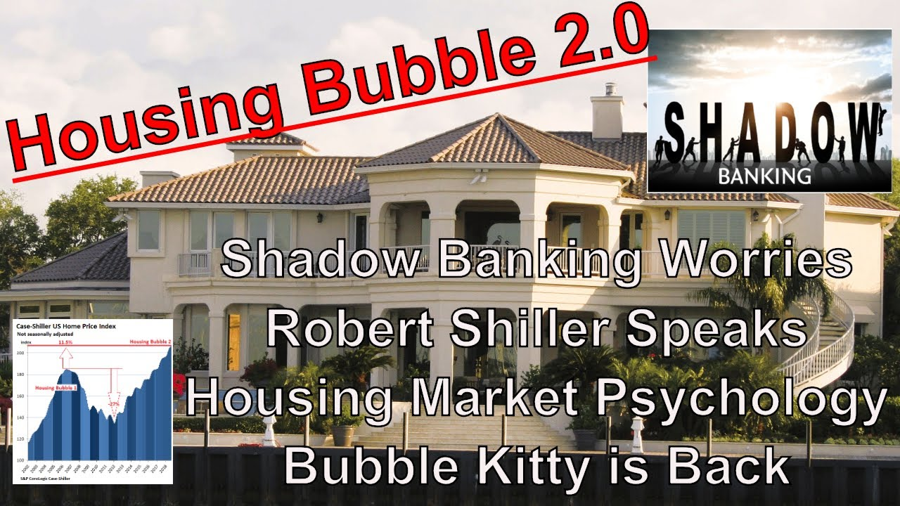 Housing Bubble 2 0 - Shadow Bank Worries - Shiller Speaks - Market  Psychology - Bubble Kitty's Back