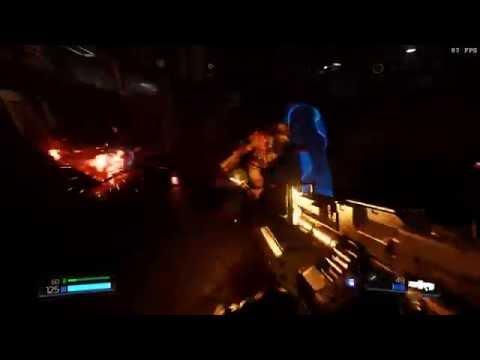 RX 480 gameplay Doom 4