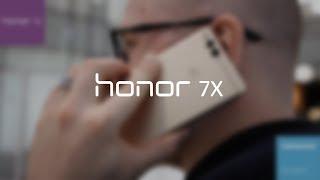 Видеообзор смартфона Honor 7X
