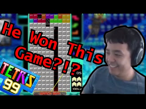 TETRIS 99 - COMEBACK OF THE CENTURY