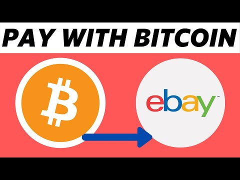 How To Pay With Bitcoin On Ebay! (2021)