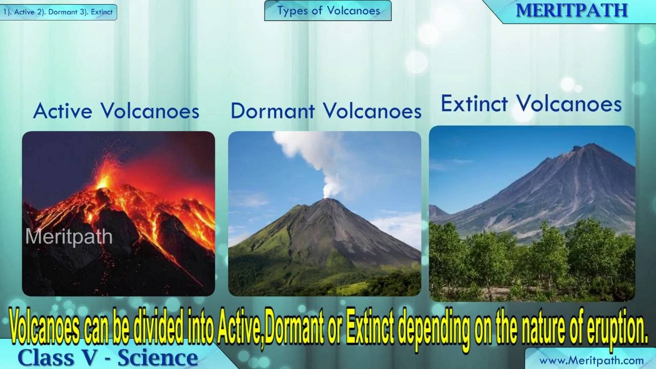 class V Science Volcanoes - YouTube