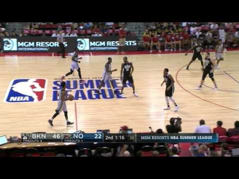 Quinn Cook scores 20 on Day 4 of NBA Summer League