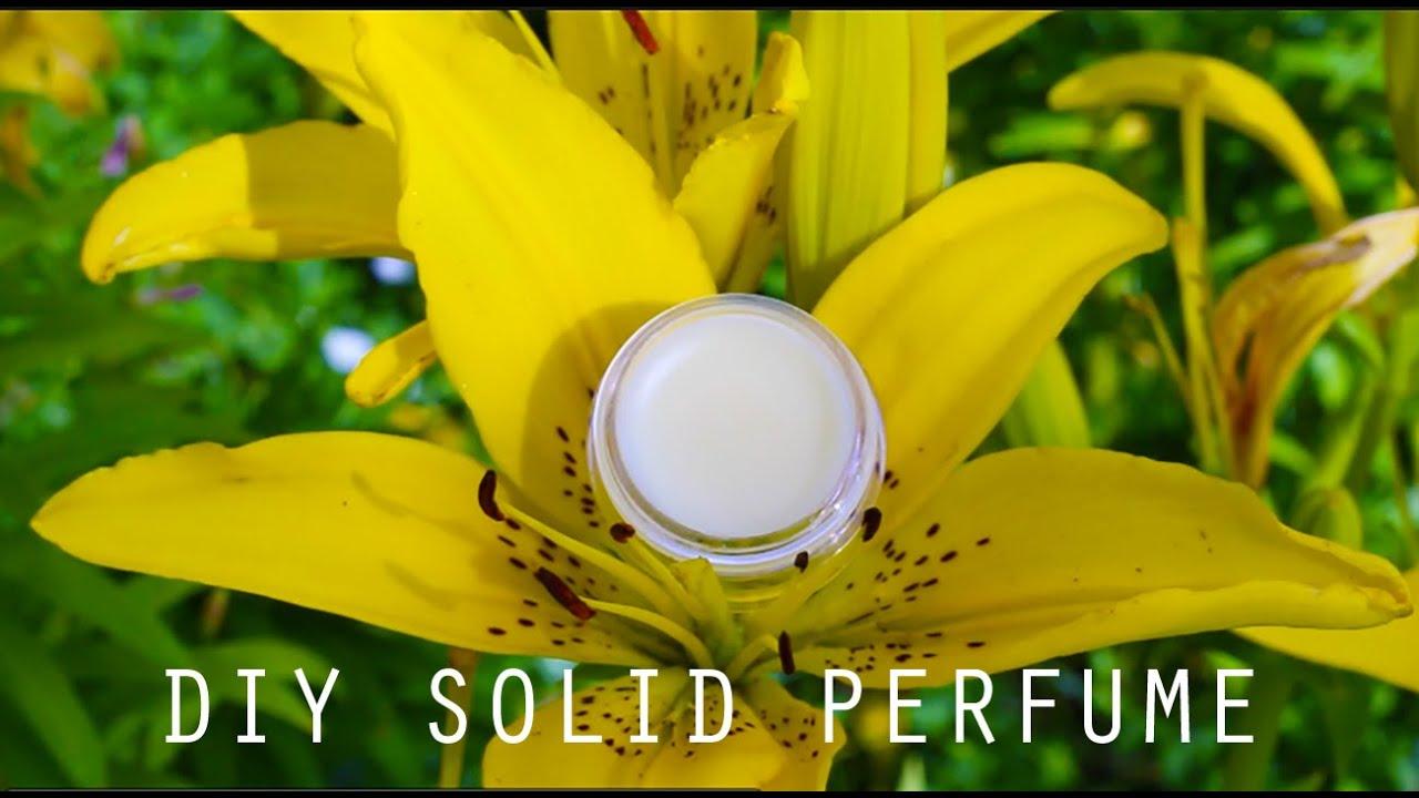 diy solid perfume with vaseline