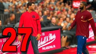 nba 2k17 my player career part 27 kyrie talkin trash