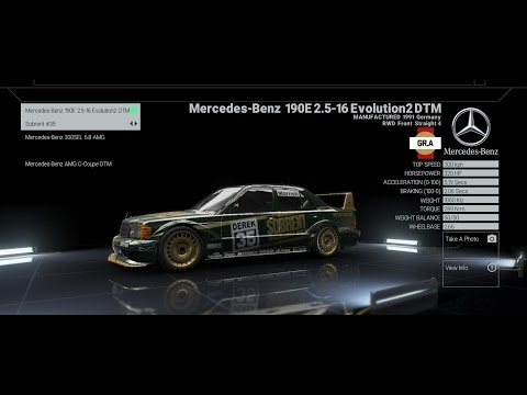 Onboard Nordschleife - Mercedes Benz 190E Evo2 DTM - Project Cars - Crash at the End