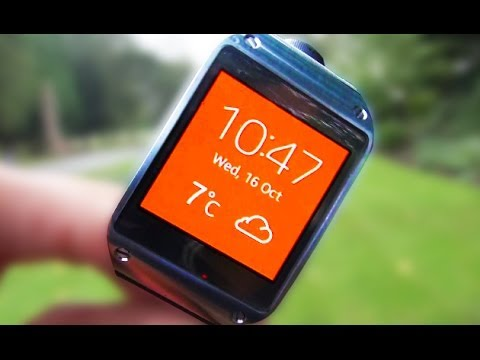 Samsung GALAXY GEAR SMARTwatch Camera Test