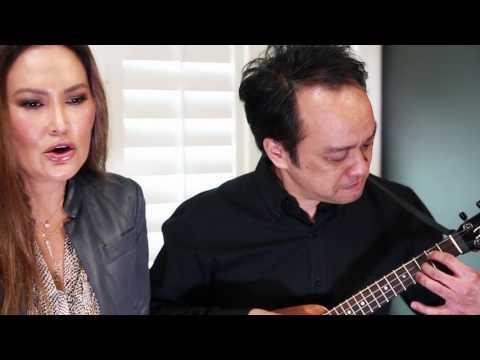 """Tia Carrere &  Daniel Ho """"Aloha 'Oe"""""""