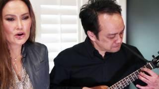 "Tia Carrere &  Daniel Ho ""Aloha 'Oe"" Resimi"