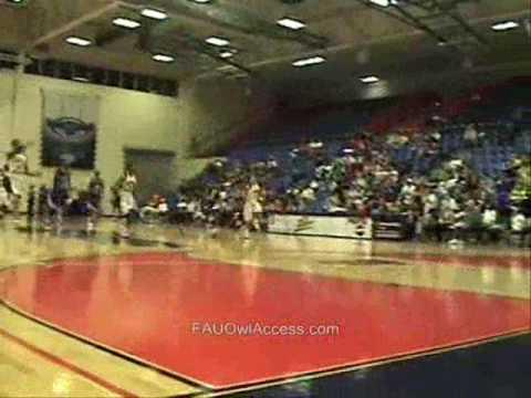 FAU basketball vs MTSU 2009 senior night2