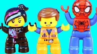 Lego Movie 2 Duplo Emmet And Lucy's Visitors From The Duplo Planet Toy Set