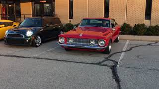 1962 PLYMOUTH FURY SPORT - RED WITH RED/BLACK INTERIOR - 2/2