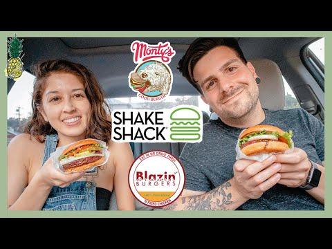 Vegan Fast Food Taste Test (Los Angeles Edition) #8