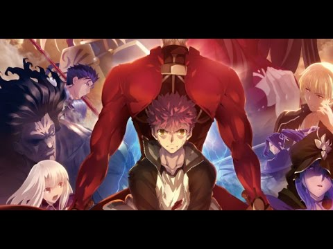 fate stay night unlimited blade works opening 2 brave