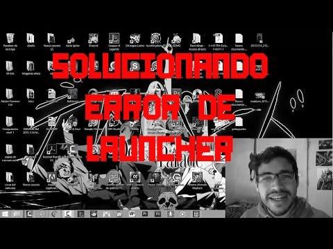 DMO: Solucion launcher error