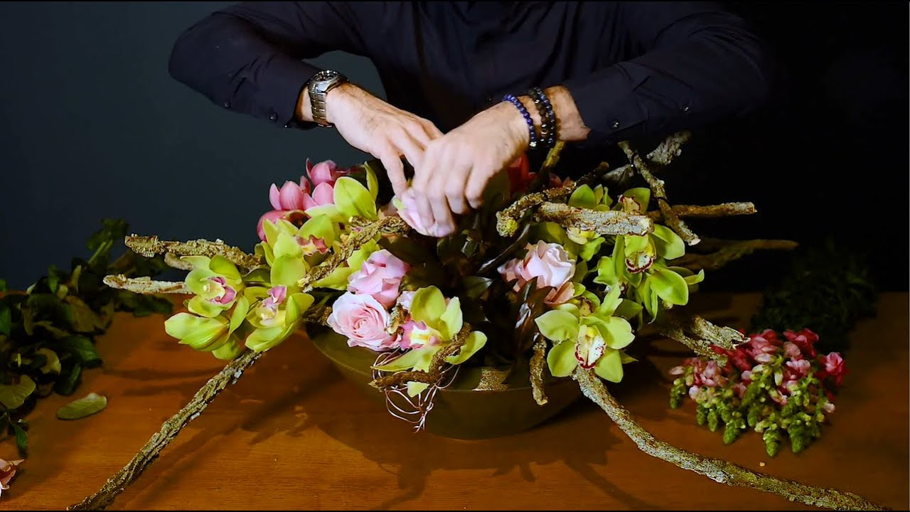 How to Make a Cymbidium decoration | | Flower Circus, 13+