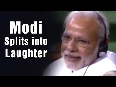 PM Modi splits into laughter over MP Hukumdev Narayan Yadav's satirical speech in Lok Sabha