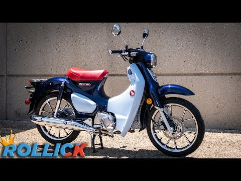 2019 Honda Super Cub First Ride Review [Great Scooter - Terrible Motorcycle]