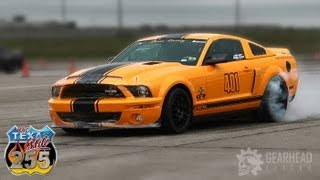 WORLDS FASTEST STANDING MILE - GT500 Super Snake - 220.8 mph Texas Mile (Gearhead Flicks)