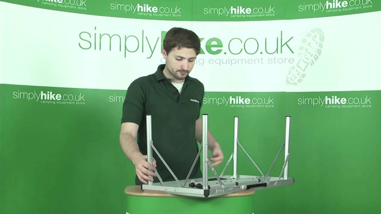 Coleman 6 In 1 Camping Table Www Simplyhike Co Uk Youtube