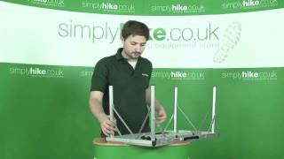 Coleman 6 in 1 Camping Table-www.simplyhike.co.uk