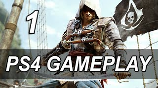 Assassin's Creed 4 Black Flag Gameplay - Sequence 3 Open World AC4 Playstation 4