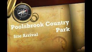 Derbyshire - Poolsbrook Country Park Caravan Site Arrival