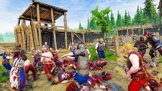 Surviving an Endless Siege with Massive Hordes of Medieval Enemies in Mordhau