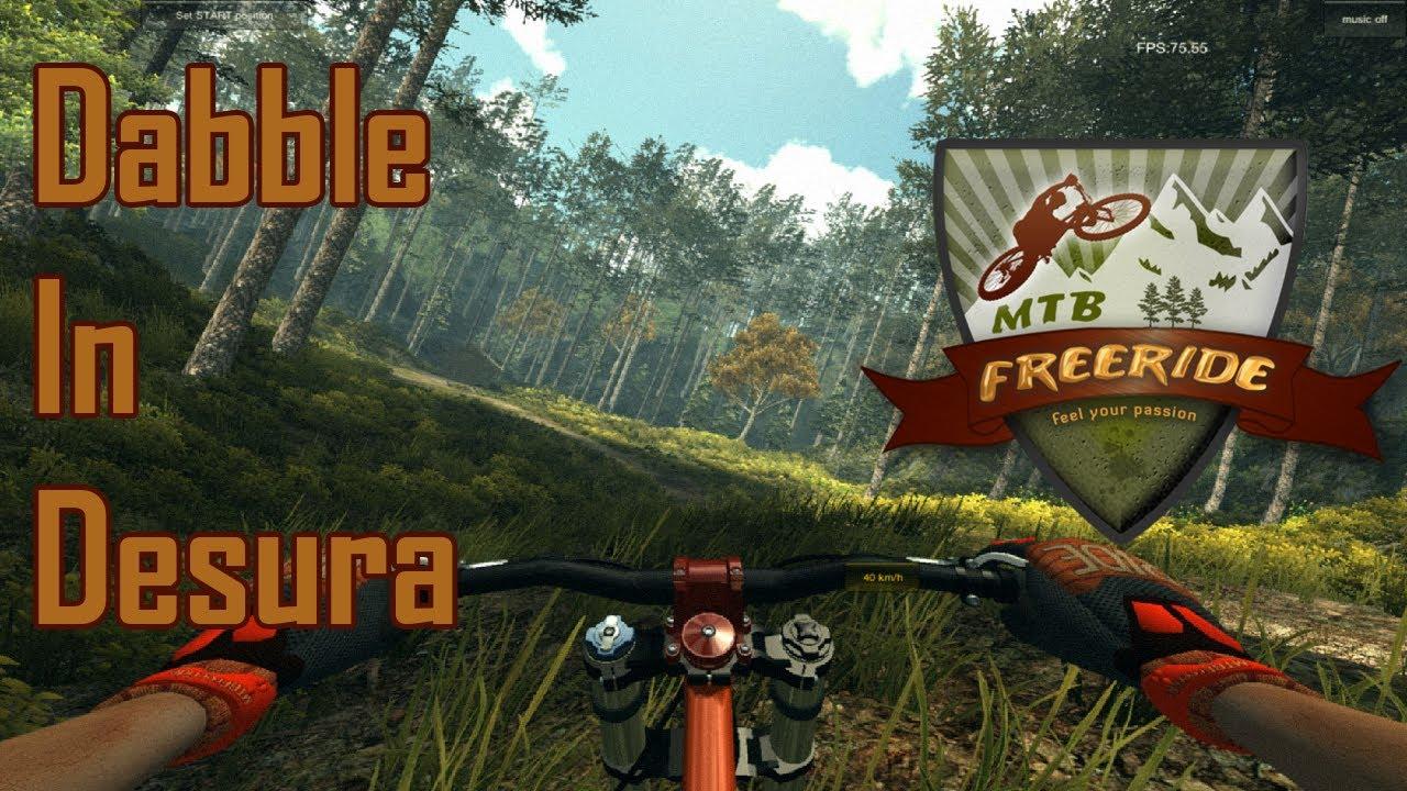 MTB FreeRide Alpha (Desura game) - YouTube