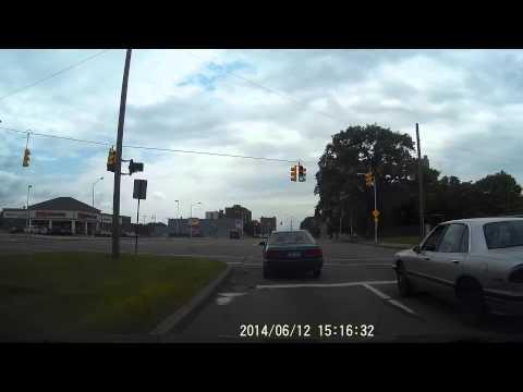 "Driving Near the Motown Museum ""Hitsville U.S.A."" W. Grand Blvd Detroit, MI"