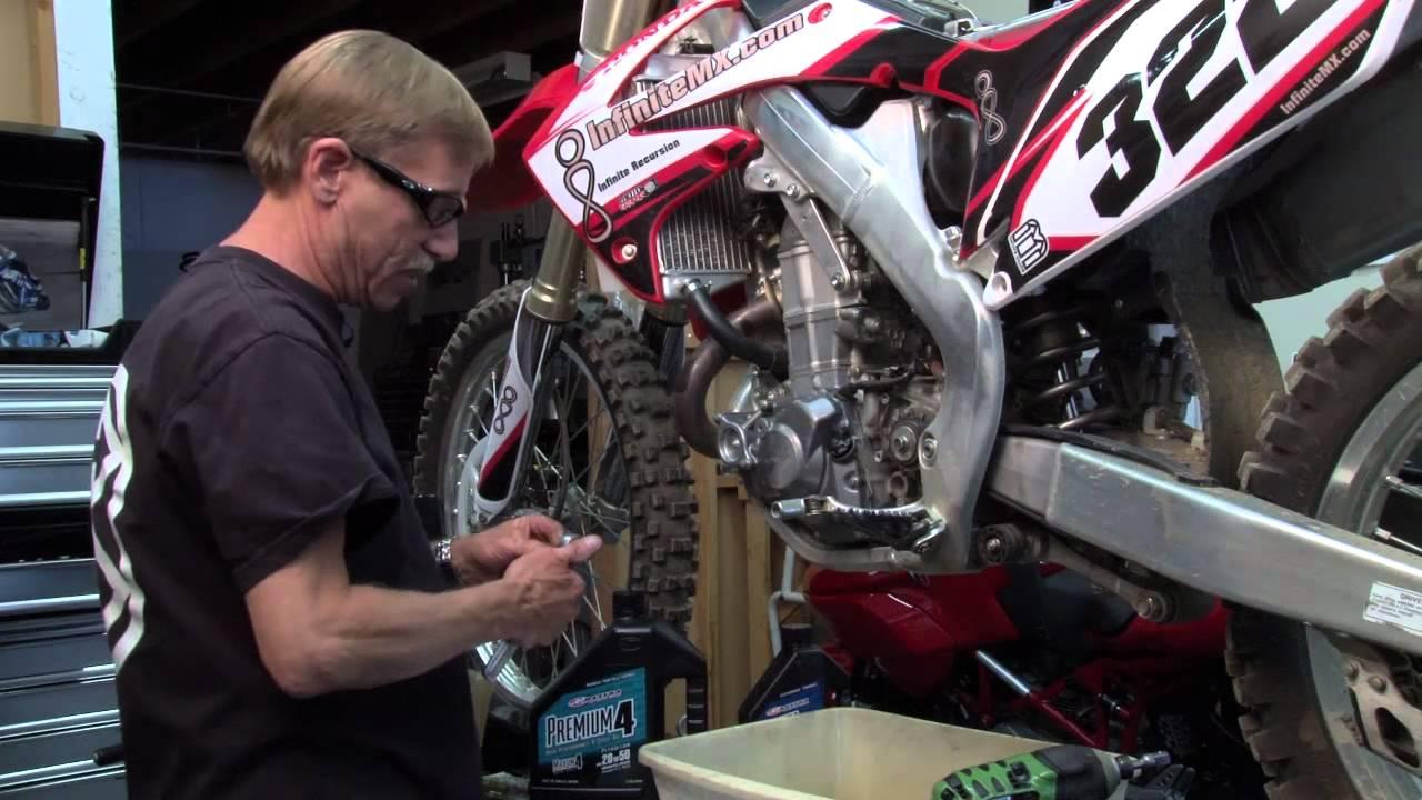 Honda CRF450 - How to make your Honda CRF450 engine last ...
