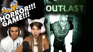 SCARY HORROR GAME l OUTLAST l STREAM HIGHLIGHTS ( ANG TAPANG NI VIKA)